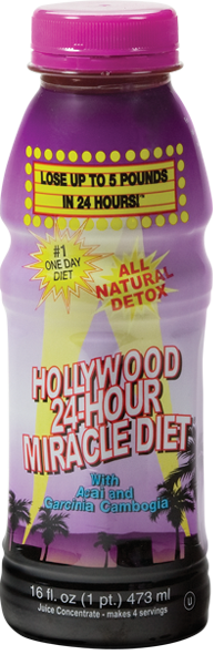 24 Hour Miracle Diet� - 16 oz. Bottle