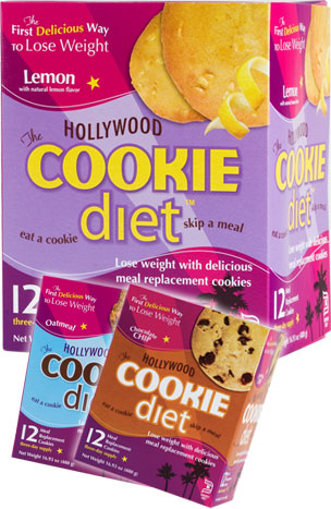 Hollywood Cookie Diet� - Buy 5, Get 2 FREE Plus FREE Shipping*